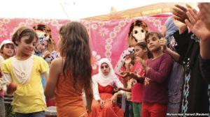 ازدواج دختران سوری