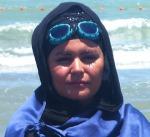 دختر شناگر ایرانی رکورددار
