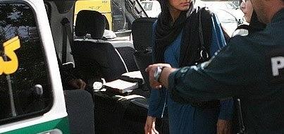 """خوردن محجبه ماجرای کتک خوردن """"زن محجبه که درباره حجاب امر به معروف ..."""