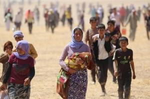 ایزدی های فراری از دست داعش