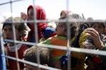 پناهندگان کوبانی درگیری در مرز ترکیه